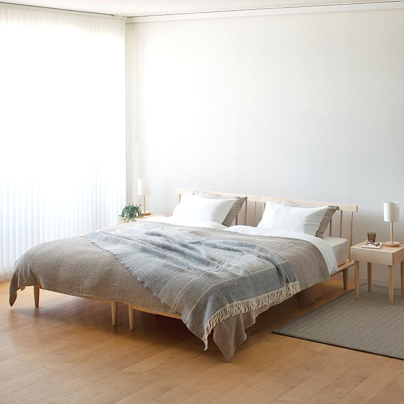 Spoke bed