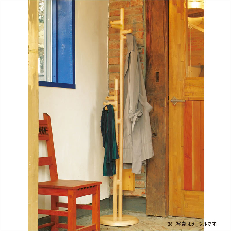 Twin coat stand