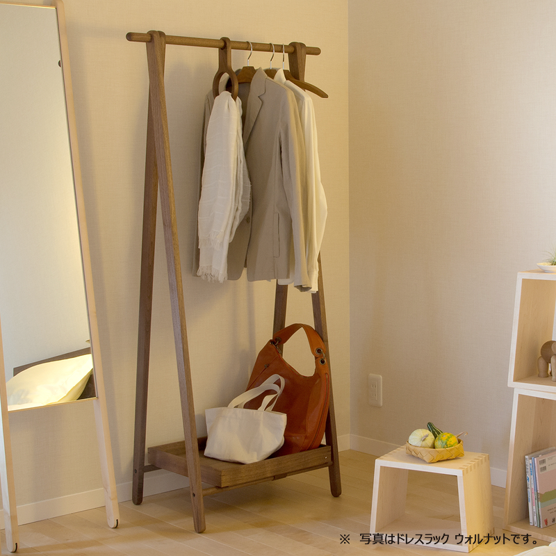 Dress rack refreshing storage set