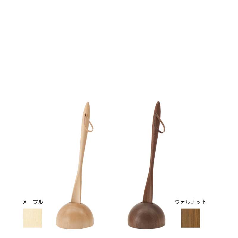 Set of shoehorn (S) and stand
