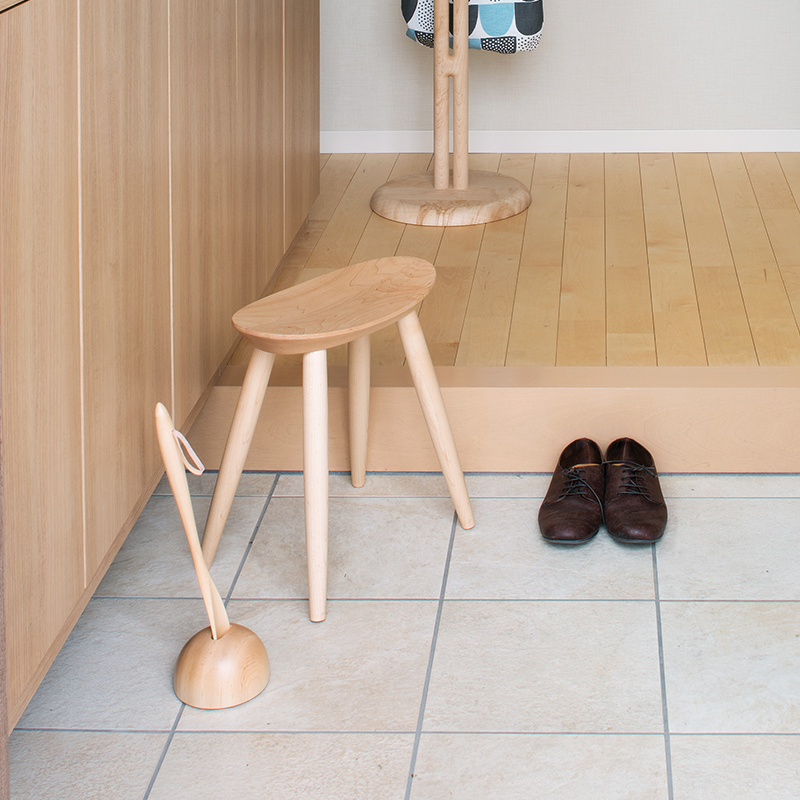 Shoehorn (S) and stand set