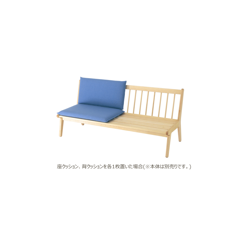Back cushion for living bench [Zhang: KH]